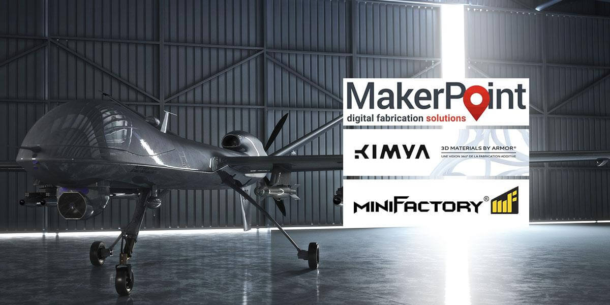 MakerPoint, miniFactory and Armor Group start unique partnership in the Benelux